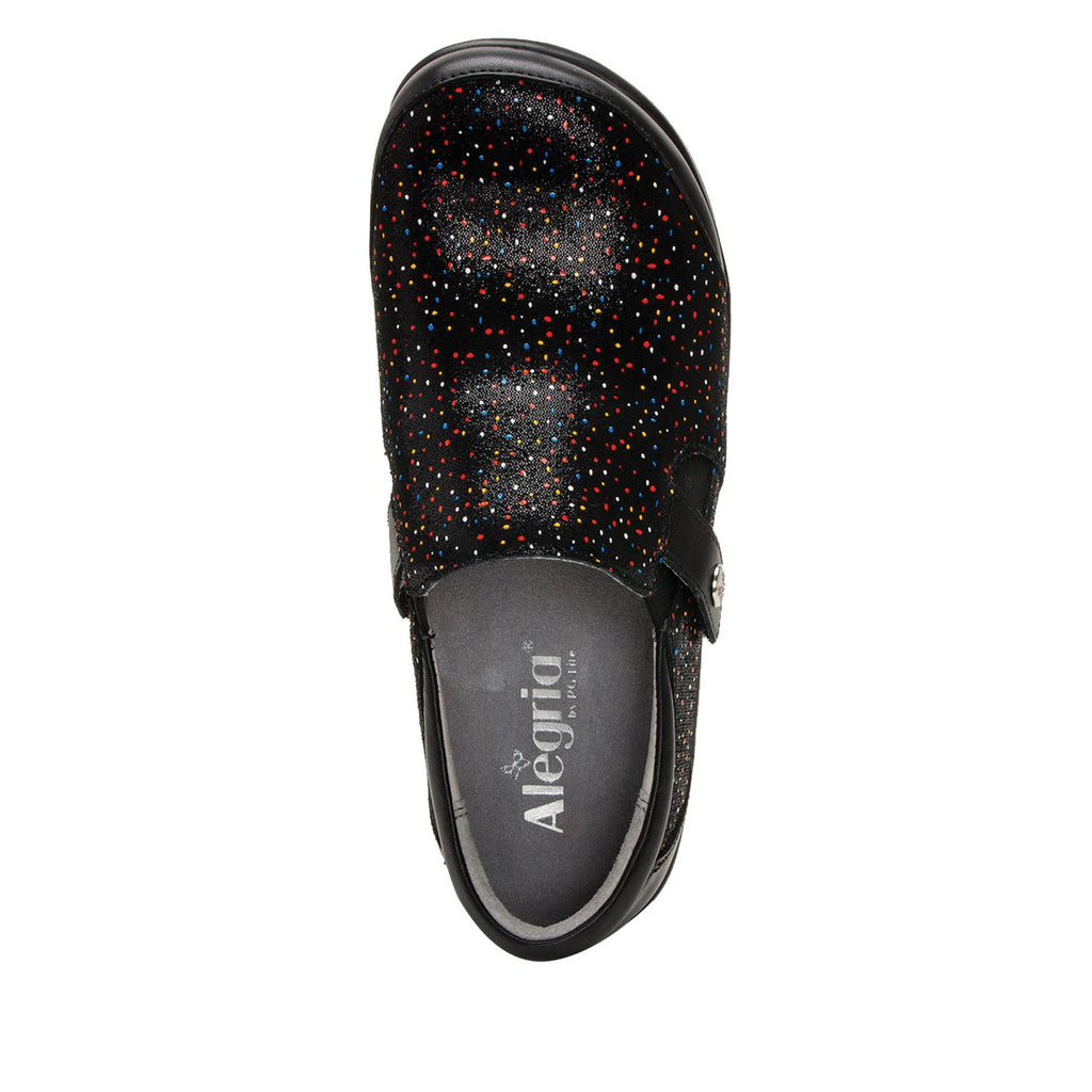 Paityn Sprinkles slip on style shoe with contrast leather detailing and career casual outsole - PAI-763_S4 (2301136633910)