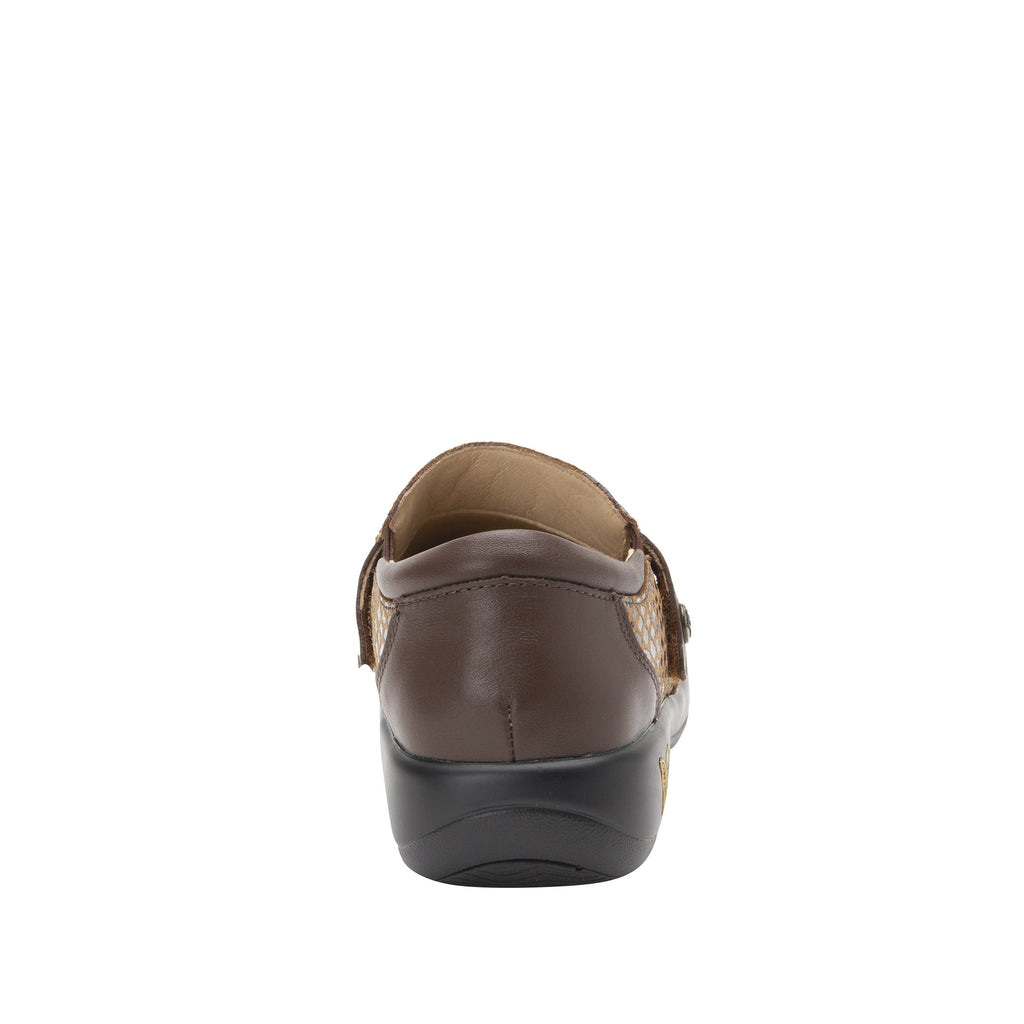 Paityn Golden Hour slip on style shoe with contrast leather detailing and career casual outsole - PAI-7851_S3