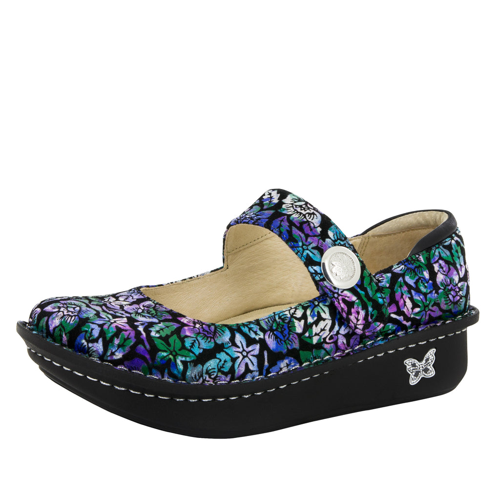 Paloma Hibiscus & Co Mary Jane - Alegria Shoes - 1