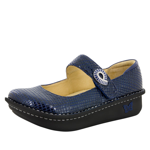 Paloma Jazzy Blue Mary Jane - Alegria Shoes - 1