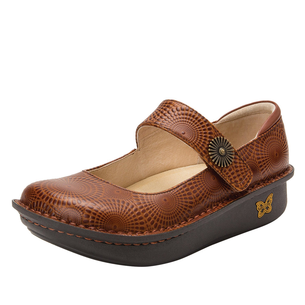 Paloma Brandy Mary Janes with Classic Rocker Outsole - PAL-273_S1