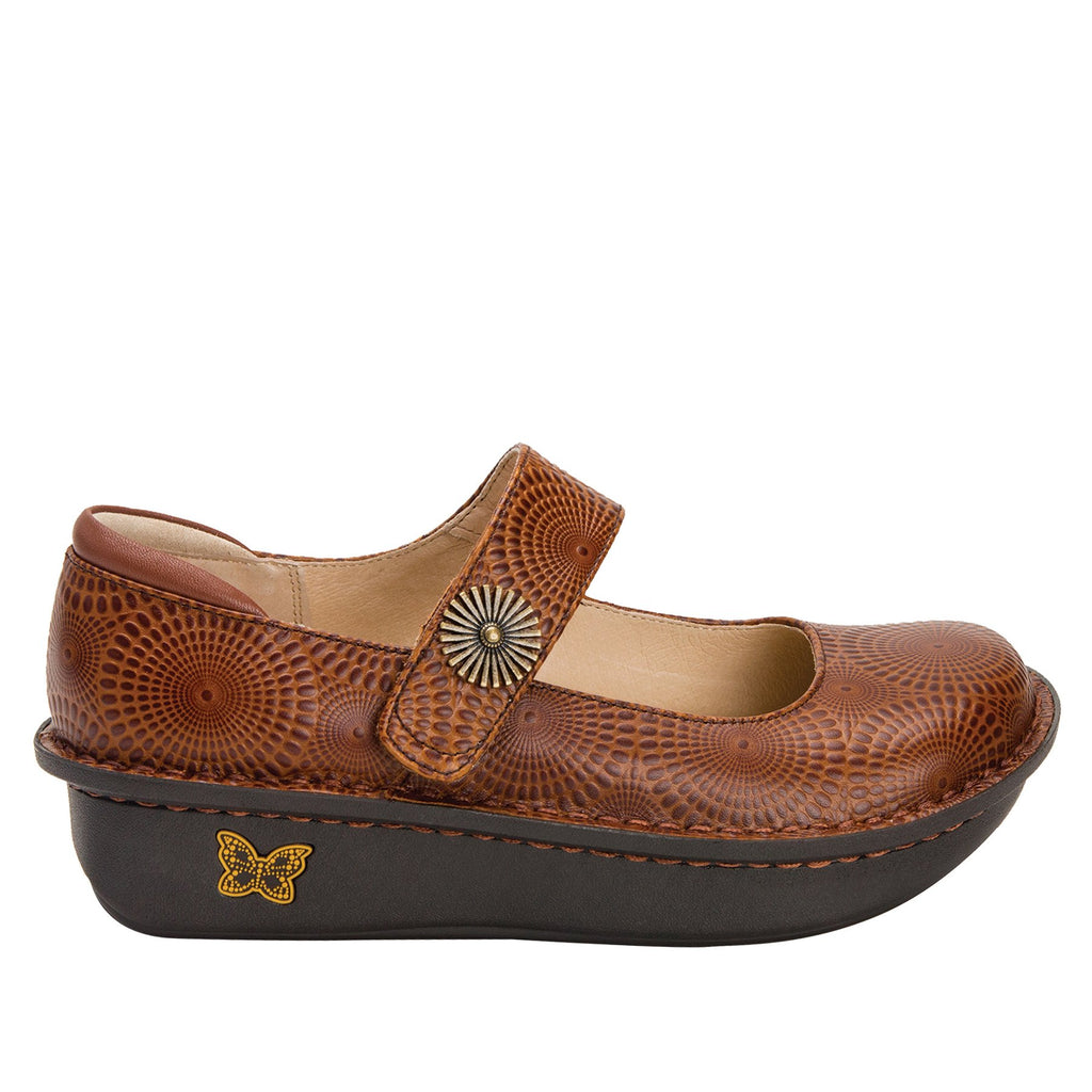 Paloma Brandy Mary Janes with Classic Rocker Outsole - PAL-273_S2