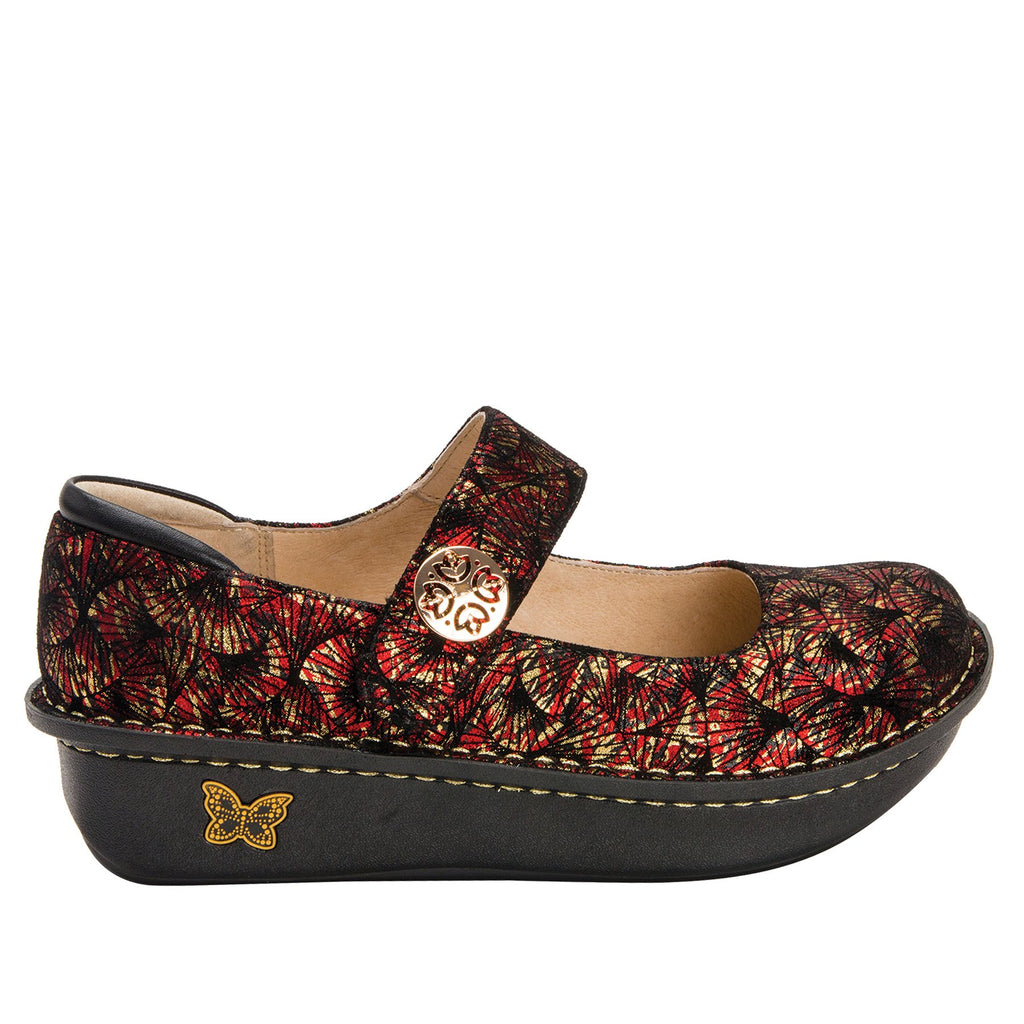 Paloma Drama Mary Janes with Classic Rocker Outsole - PAL-274_S2