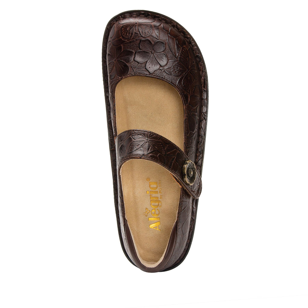 Paloma Flutter Choco Mary Janes with Classic Rocker Outsole - PAL-275_S4 (2235484176438)