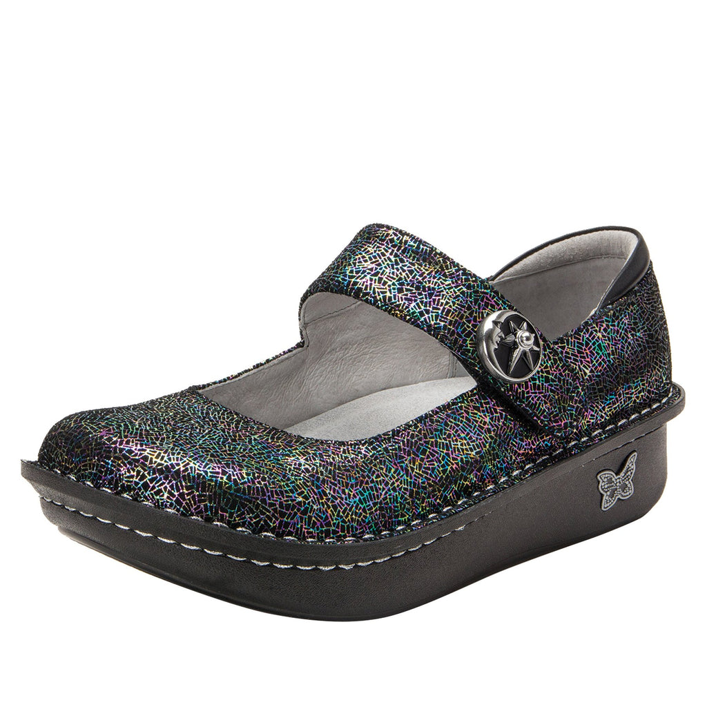 Paloma Moon Shadow Mary Janes with Classic Rocker Outsole - PAL-276_S1
