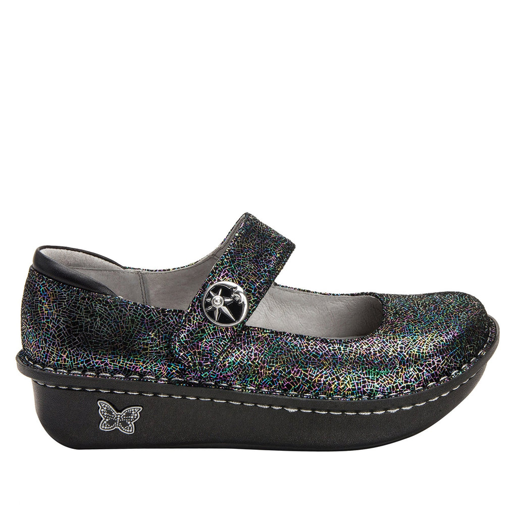 Paloma Moon Shadow Mary Janes with Classic Rocker Outsole - PAL-276_S2