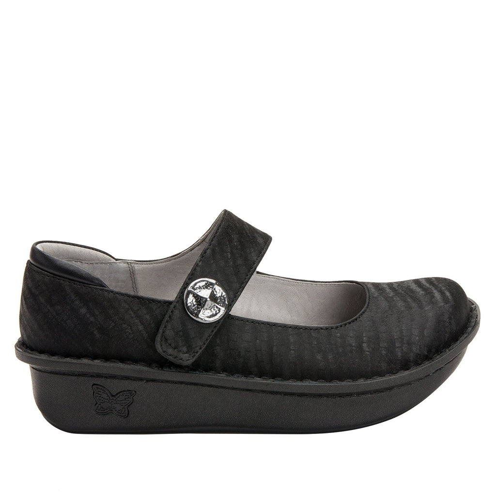Paloma Caviar Mary Janes with Classic Rocker Outsole - PAL-277_S2 (2208728940598)
