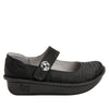 Paloma Caviar Mary Janes with Classic Rocker Outsole - PAL-277_S2