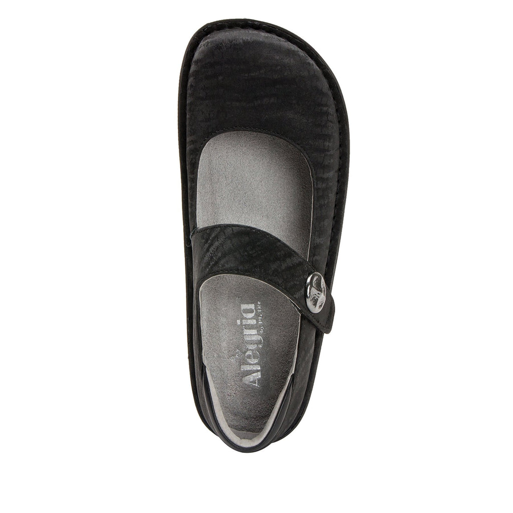 Paloma Caviar Mary Janes with Classic Rocker Outsole - PAL-277_S4 (2208728940598)