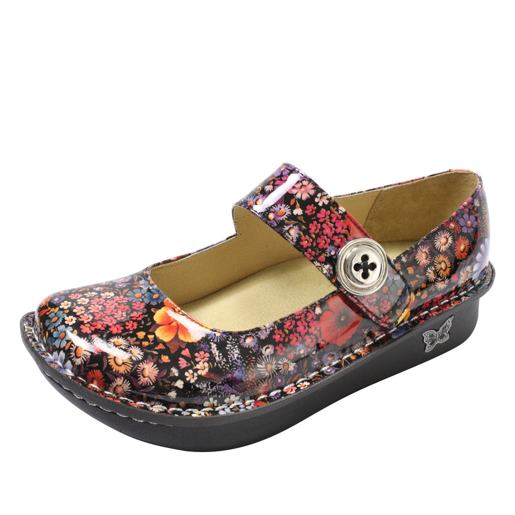 Paloma Midnight Garden Mary Jane - Alegria Shoes