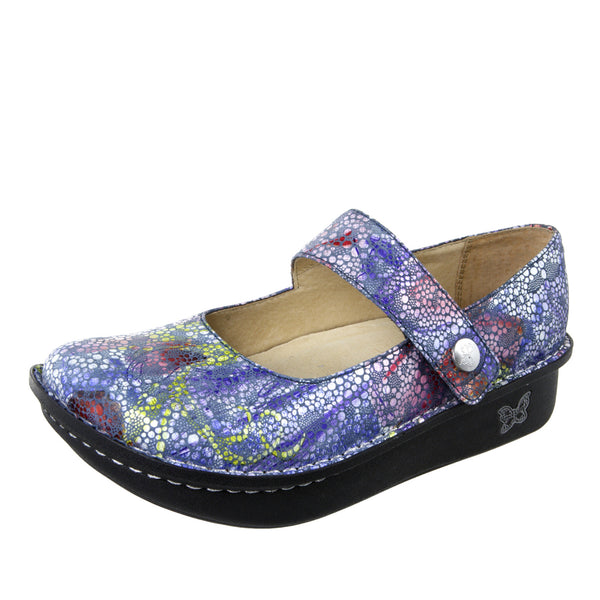 Paloma Blue Bubbles Mary Jane - Alegria Shoes