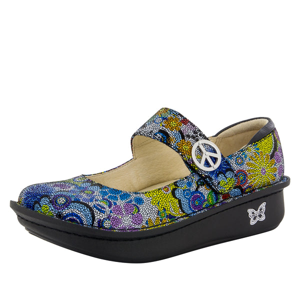 Paloma Hippie Chic Dottie Mary Jane - Alegria Shoes - 1