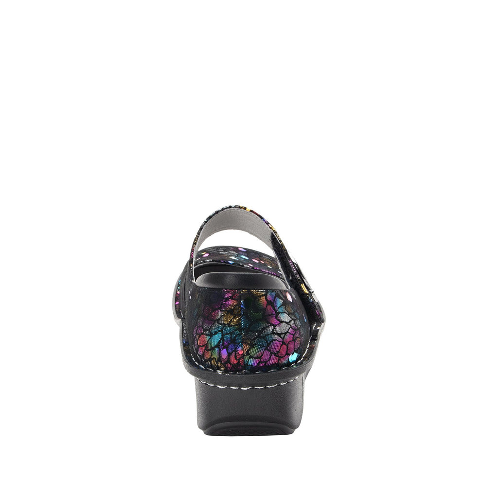 Paloma Minnow Rainbow Mary Janes with Classic Rocker Outsole - PAL-459_S3