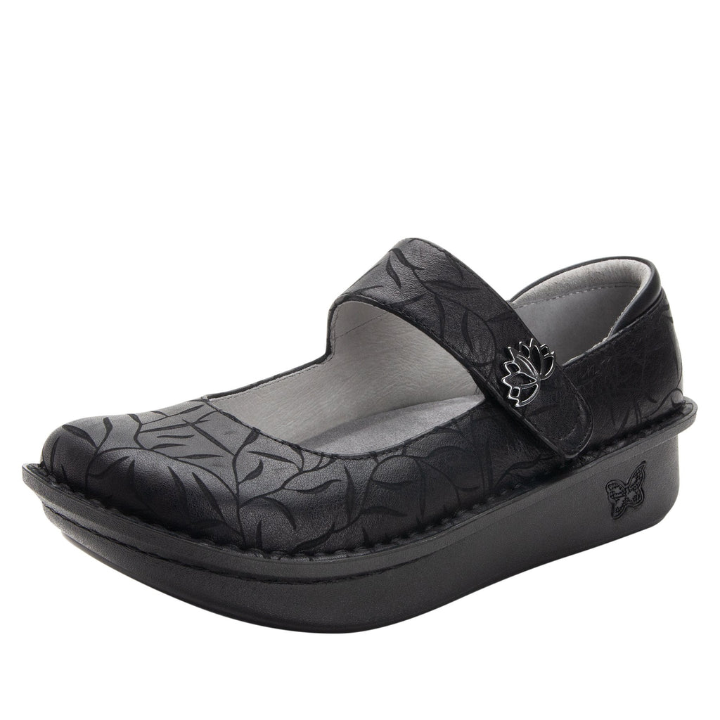 Paloma Lotus Mary Janes with Classic Rocker Outsole - PAL-504_S1