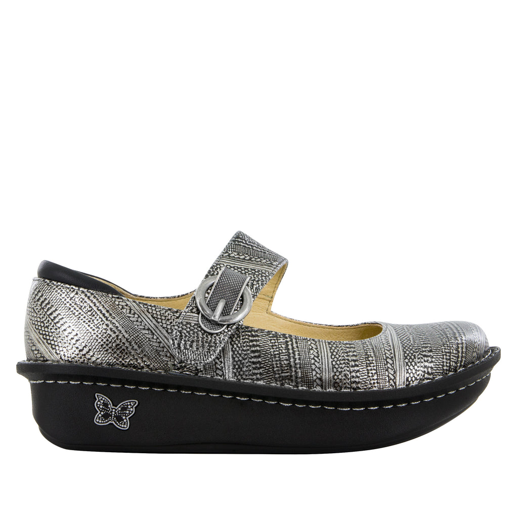 Paloma Chain Mail Mary Jane - Alegria Shoes - 2 (6050931329)