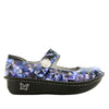 Paloma Periwinkle Mary Janes with Mild Rocker Bottom - PAL-774_S2