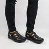 Pesca Black Butter Sandal - Alegria Shoes - 2
