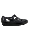 Pesca Black Butter Sandal - Alegria Shoes - 3