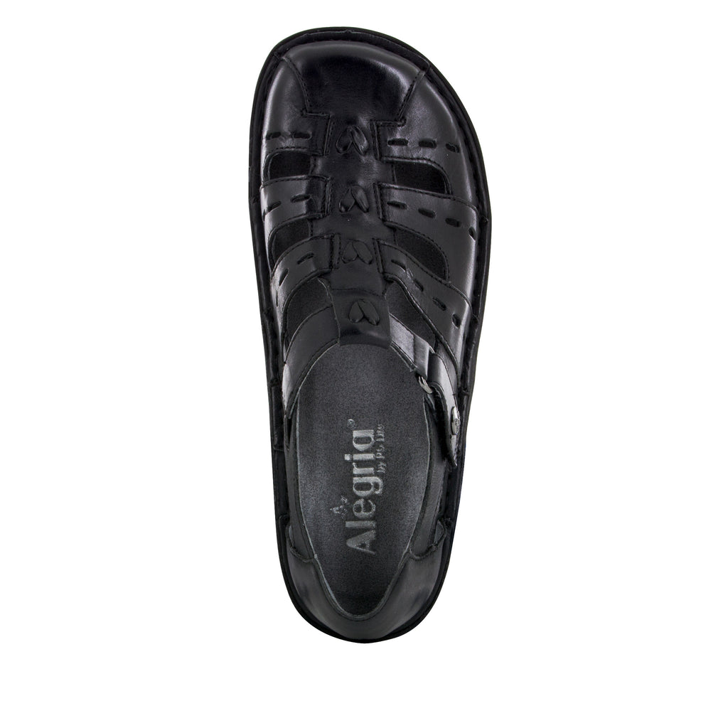 Pesca Black Butter Sandal - Alegria Shoes - 5 (8688662925)