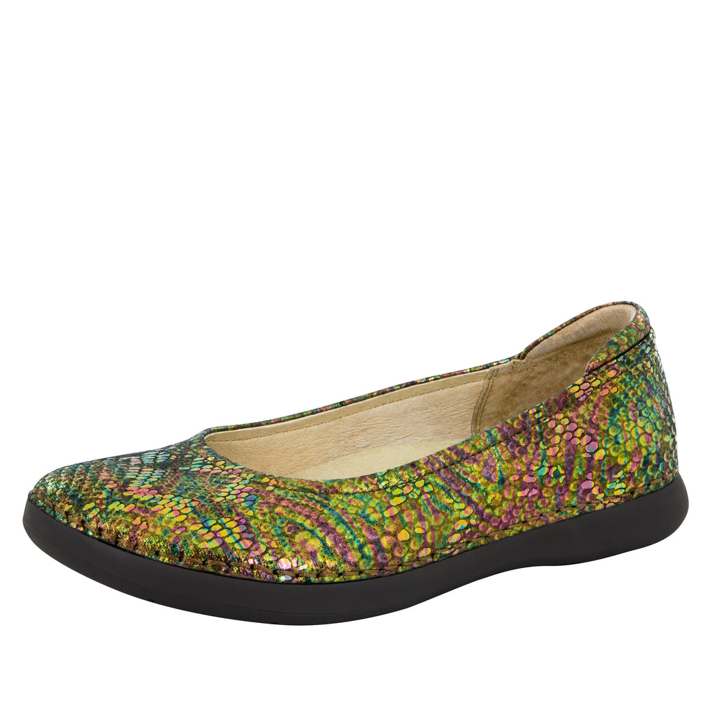 Petal Thrones Flat - Alegria Shoes - 1