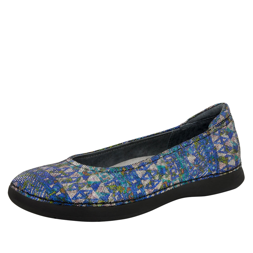 Petal Rave on the Nile Flat - Alegria Shoes - 1