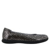 Petal Pewter Dazzler Flat - Alegria Shoes - 2