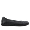Petal Black Nappa Flat - Alegria Shoes - 2