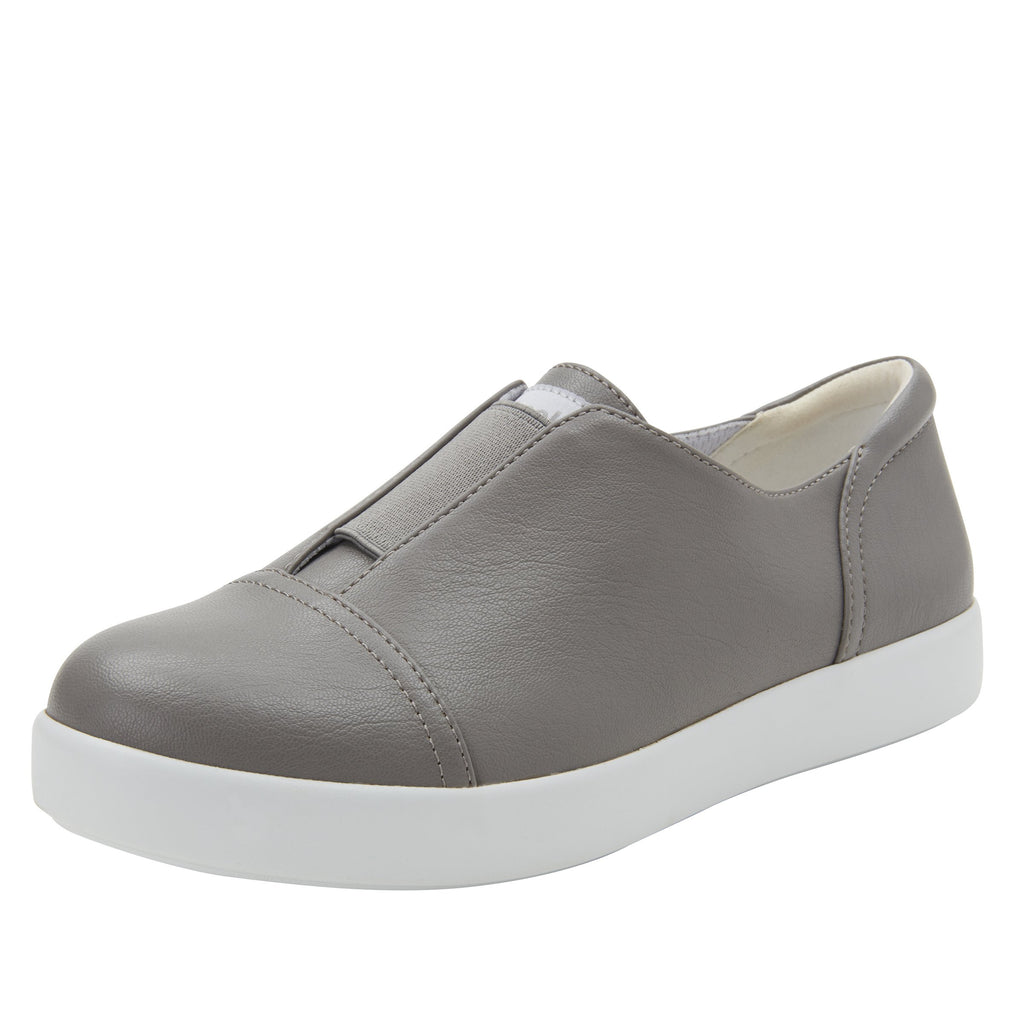 Posy Dove Nappa slip-on shoe  on the Comfort Athleisure outsole, a fashionable choice for your outfit of the day.  POS-7914_S1