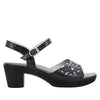 Reese Uptown Black Sandal - Alegria Shoes - 2
