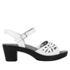 Reese White Butter Sandal - Alegria Shoes - 2