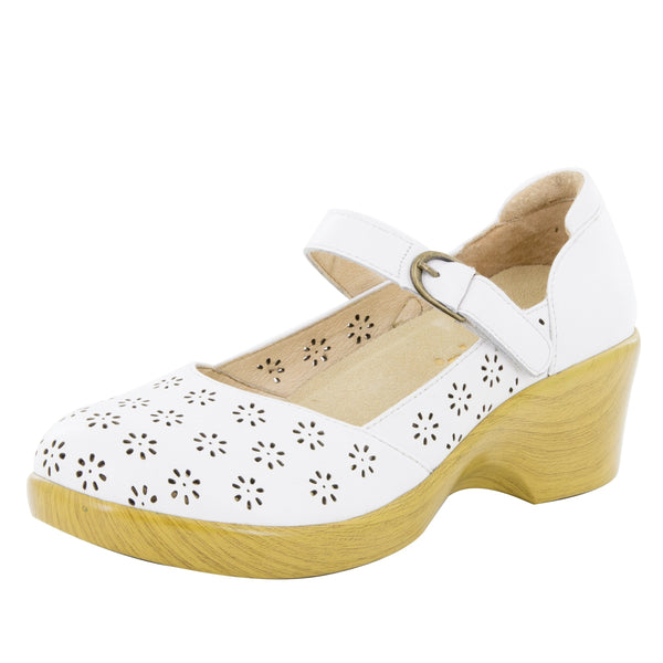 Rene White Butter Shoe