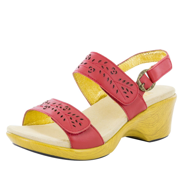 Romi Red Butter Sandal