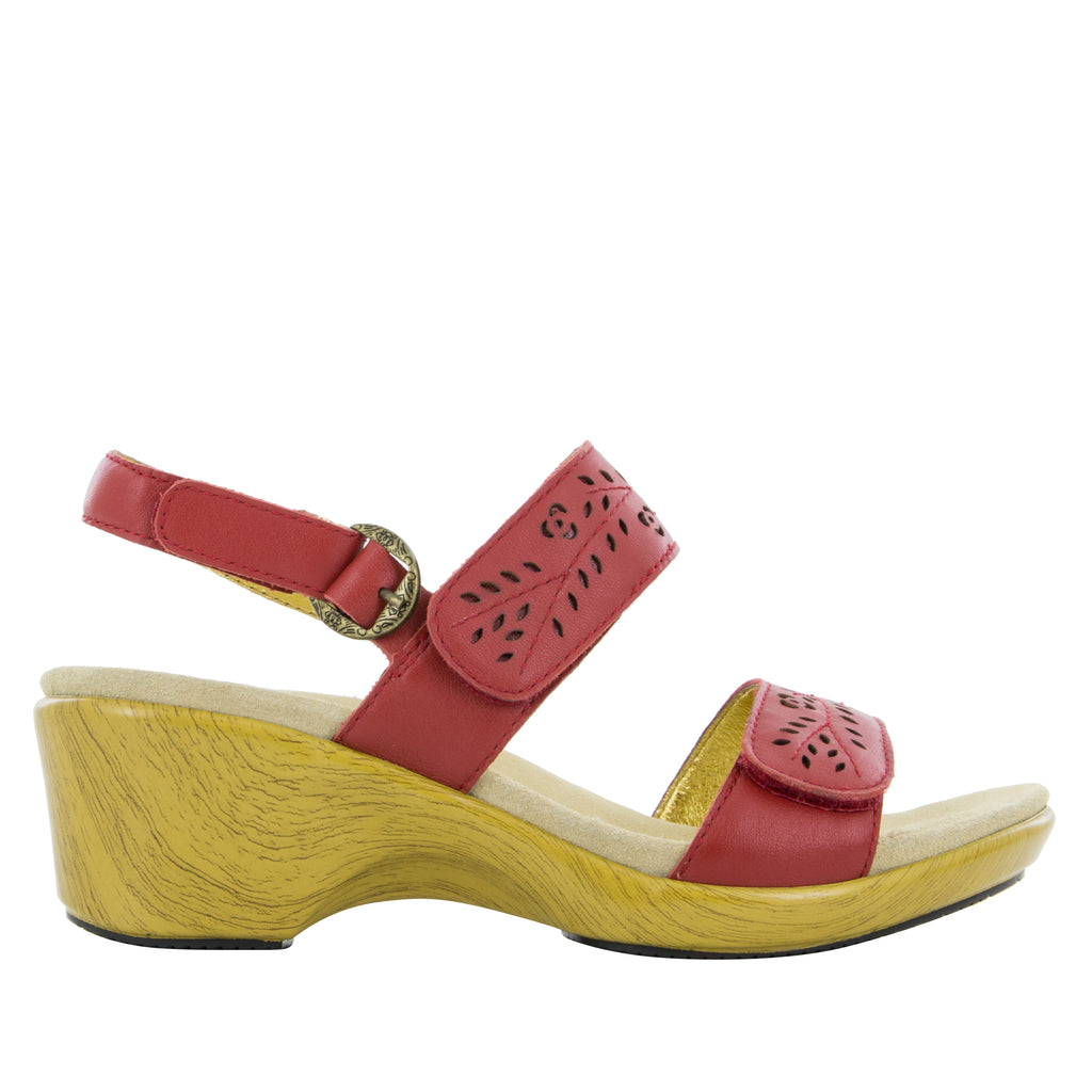 Romi Red Butter Sandal (504216027190)