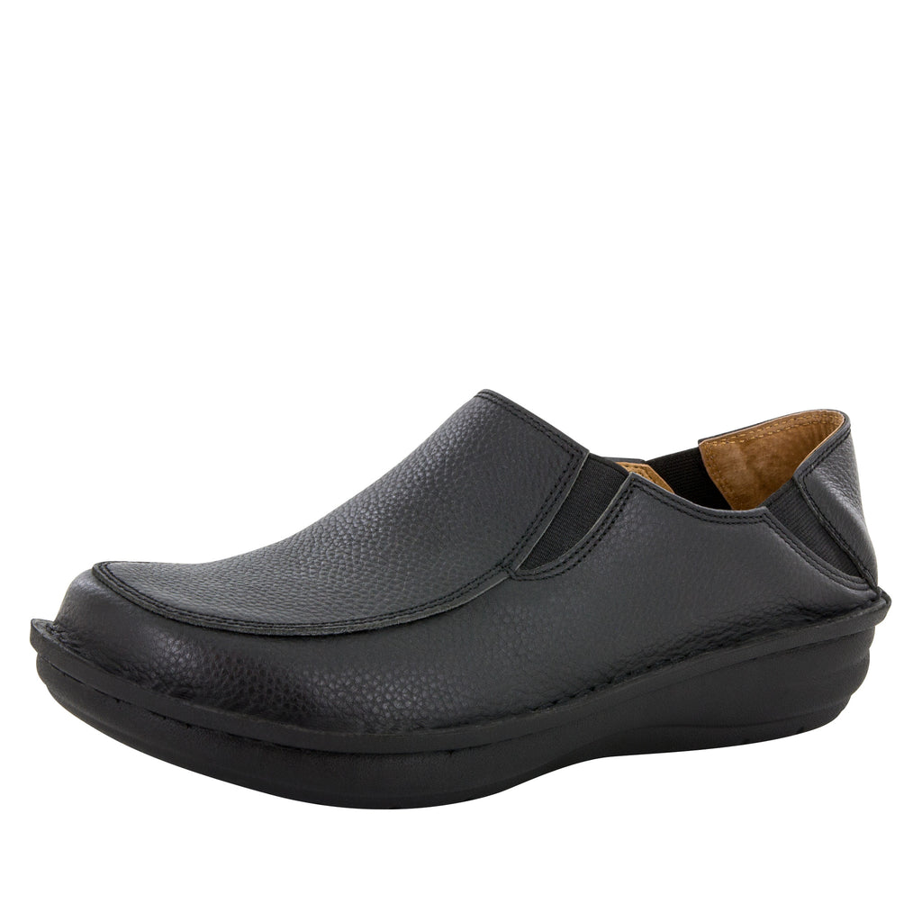 Alegria Men's Schuster Black Tumbled Shoe - Alegria Shoes