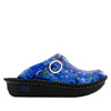 Seville Honeycomb Blues Clog - Alegria Shoes - 3
