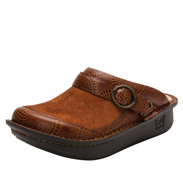 Seville Brandy Professional Clog with Dream Fit technology on Classic Rocker outsole - SEV-273_S1