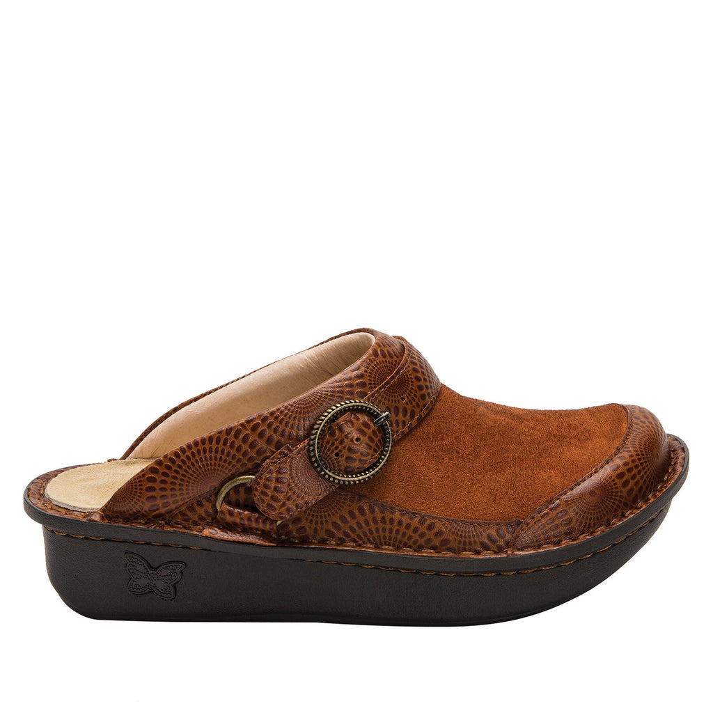 Seville Brandy Professional Clog with Dream Fit technology on Classic Rocker outsole - SEV-273_S2