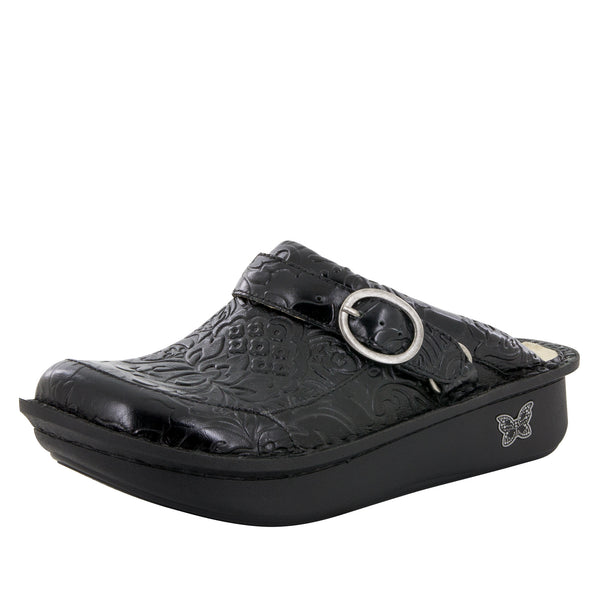 Seville Yeehaw Black Clog - Alegria Shoes - 1