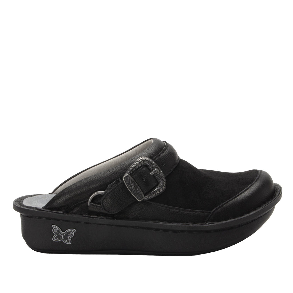 Seville Black Flex Professional Clog with Dream Fit technology on Classic Rocker outsole - SEV-7712_S2