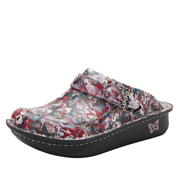 Seville Pretty Vague Clog with versatile swivel strap on Classic Rocker - SEV-7816_S1