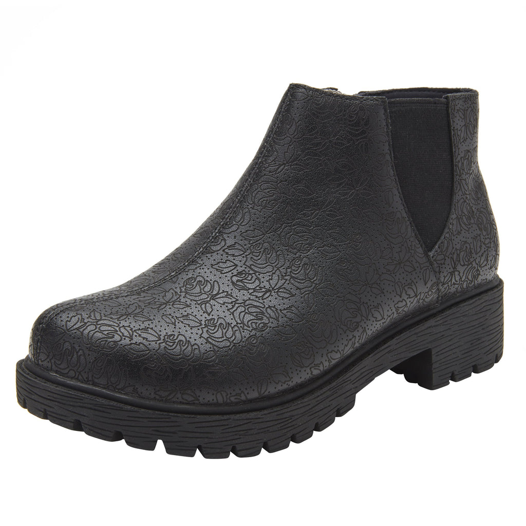 Shayne Ink Impressions boot with rugged lug inspired outsole- SHA-7824_S1