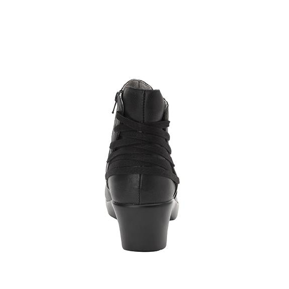 Stevee Rocknrolla features a stylish zig-zag adjustable Lace-up detail with a side zip closure - STE-598_S3 (2271800459318)