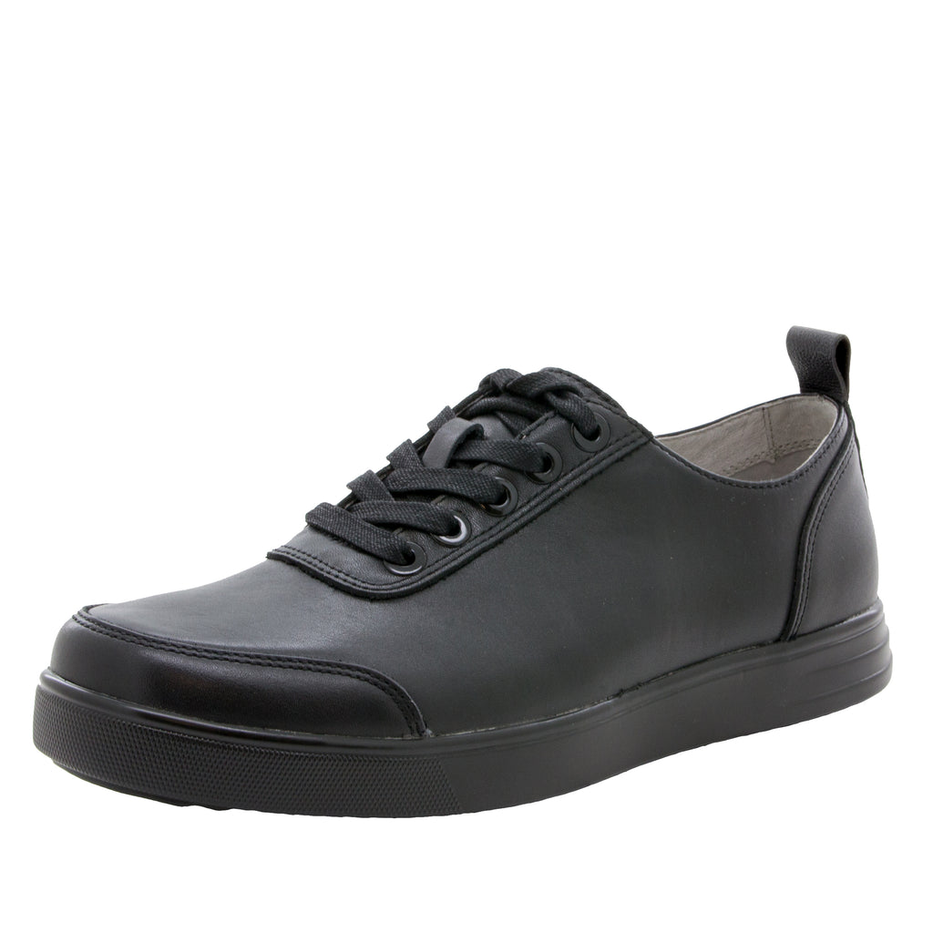Alegria Men's Stretcher Black Tumbled Shoe (512243499062)