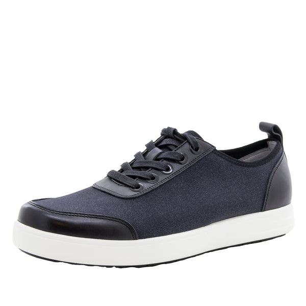 Alegria Men's Stretcher Black Mix Shoe