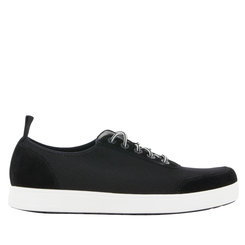 Alegria Men's Stretcher Black Shoe