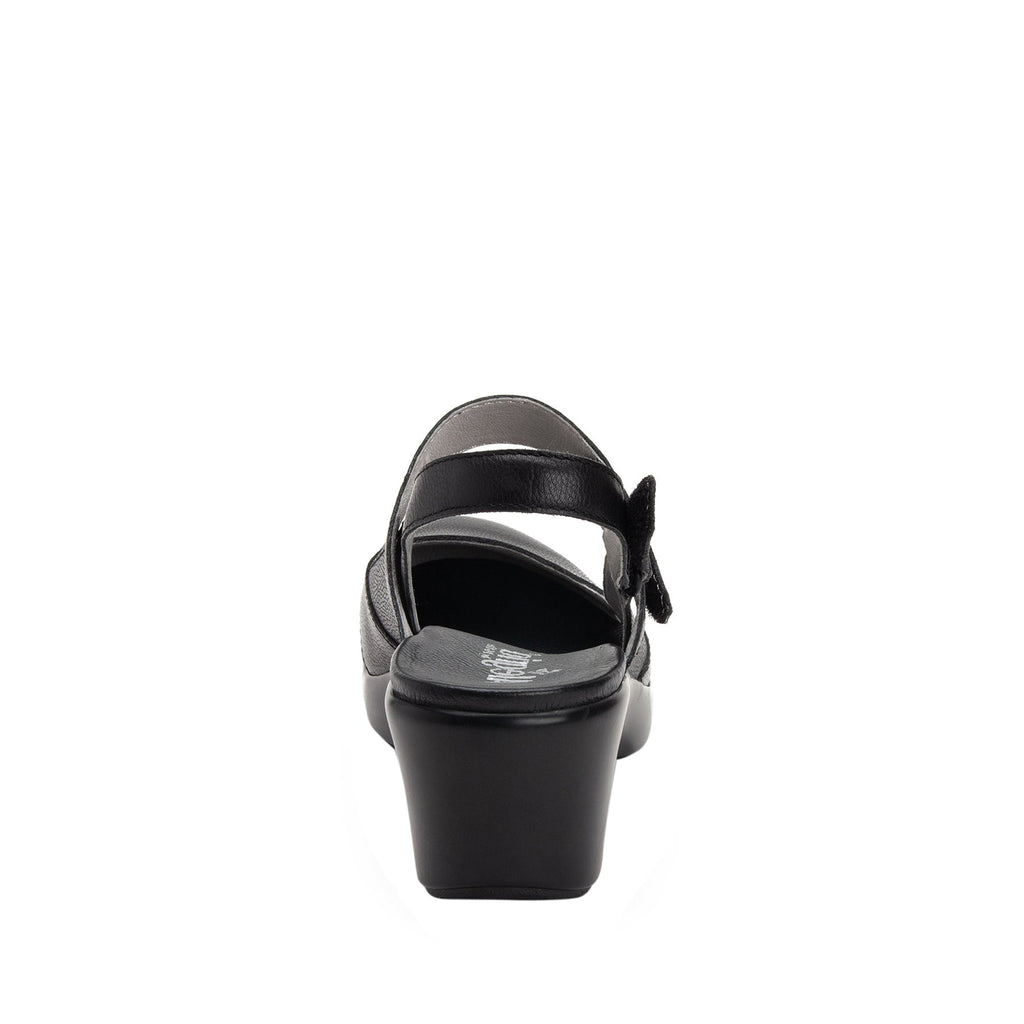 Tarah Black Casual slingback maryjane on comfort wedge outsole - ALG-TAR-611_S3 (2210298200118)