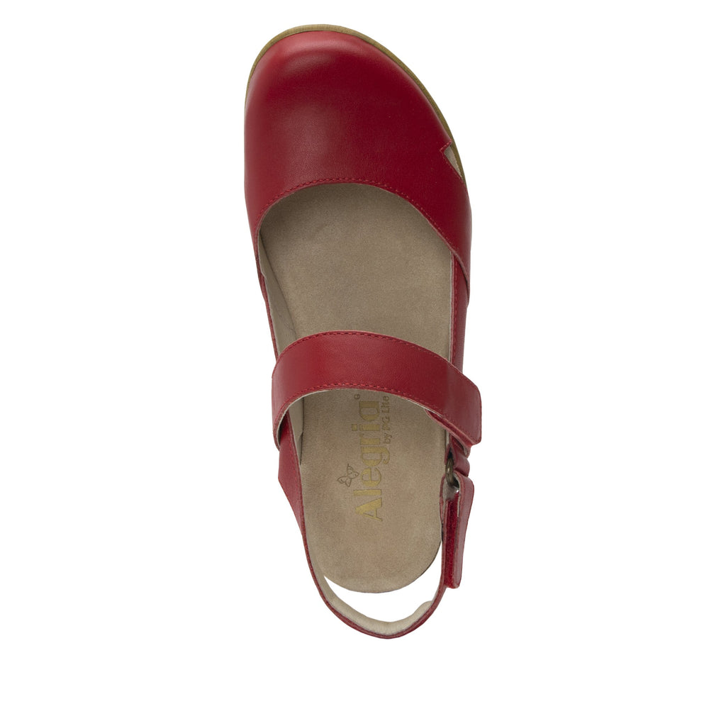 Tarah Red slingback maryjane on comfort wedge outsole - ALG-TAR-623_S4 (2088354840630)