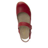 Tarah Red slingback maryjane on comfort wedge outsole - ALG-TAR-623_S4