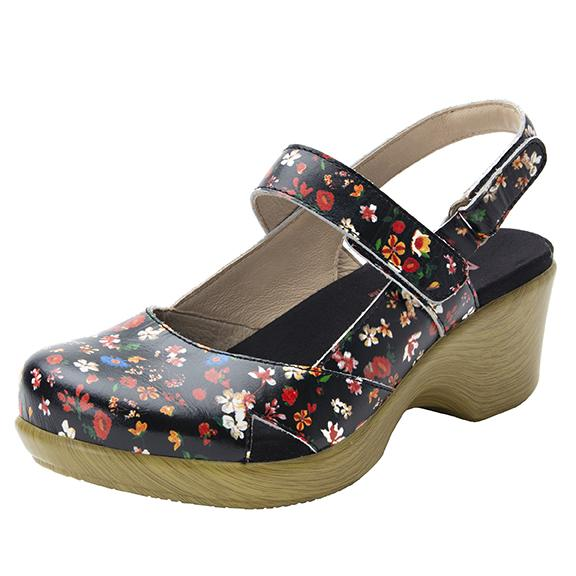 Tarah Kindred slingback maryjane on comfort wedge outsole - ALG-TAR-7804_S1