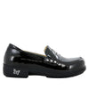 Taylor Black Waxy Shoe - Alegria Shoes - 2